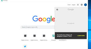 Google Removing Notifications Widget From Top-corner Of Every Google Web Page Next Month