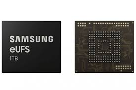 Samsung Set To Launch First 1TB Storage Chip For Smartphones