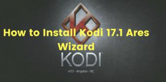 Install Kodi 17.1 Ares Wizard & get Pin using http://bit.ly/build_pin