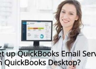 How to Setup Quickbooks Email Service on Quickbooks Desktop?
