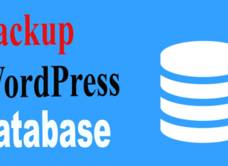 How to Backup Your Database