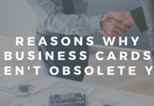 Why Business Cards Aren't Obsolete Yet