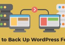 Step by Step Guide to Back Up WordPress For Free