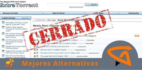 Top 14 ExtraTorrent Alternatives + 12 Mirror Sites [Updated 2020]