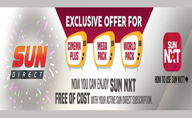 Sun NXT Free Subscription for Sun Direct Customers