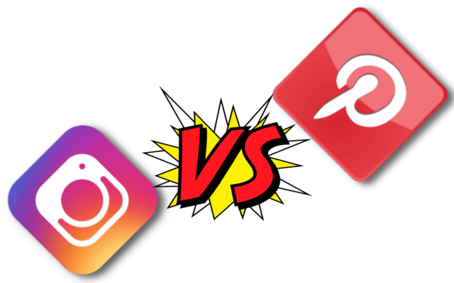 Comparison of Instagram and Pinterest