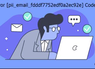 Fix Error [pii_email_fdddf7752edf0a2ec92e] Code