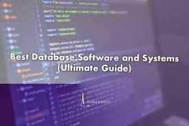 The Best Database Software of 2021