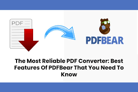 PDFBear: A Free PDF Website With Multi-Platform Availability